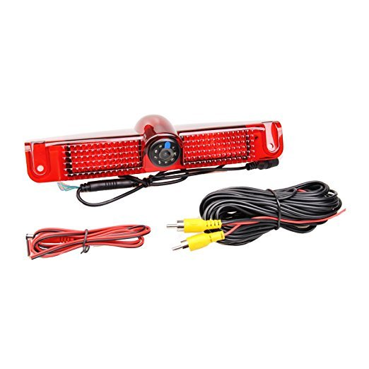 Car Brake Light Backup Camera For Chevrolet Express Vans / GMC Savana Van