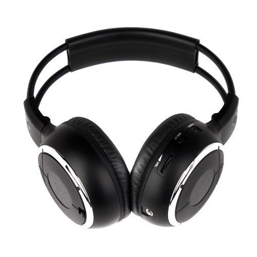 Wireless IR Headphone, Foldable Design